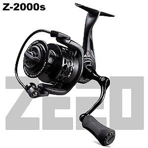 Molinete De Pesca Zeeo Z-2000s 6 Rolamentos Drag 6kg Peso 200g