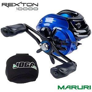 Carretilha Maruri Rexton 10000 Com Capa De Proteção Jogá