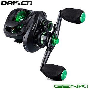 Carretilha Daisen Genki 8 Rolamentos Drag 4,5kg Recolhimento 7.2:1