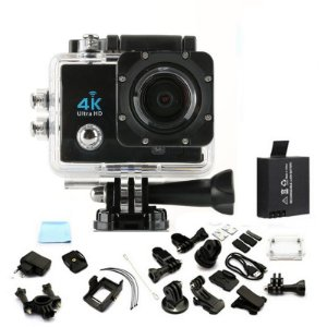 Camera Action Go Cam Pro Sport Ultra 4k Full Hd Prova D`agua