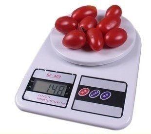 Balança Digital De Alimentos Sf400 Pesa 1gr Até 10kg
