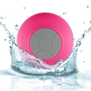 Caixa De Som Bluetooth a Prova Da Agua Portatil para Dispositivos Bluetooth - Rosa