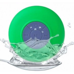 Caixa De Som Bluetooth a Prova Da Agua Portatil para Dispositivos Bluetooth - Verde