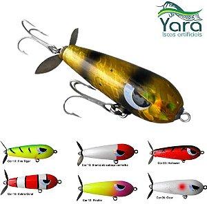 Isca Artificial Yara Devassa Torpedo com Hélice 6cm e 10 gramas