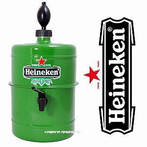 Chopeira Doméstica Portátil Heineken 5 Litros - verde