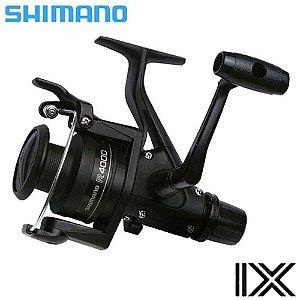 Molinete Para Pesca Shimano Ix 4000R Em Grafite 4.1:1 Drag 6,8kg