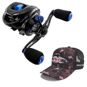 Carretilha Saint Plus Twister 10000 Com Boné Makis Fishing