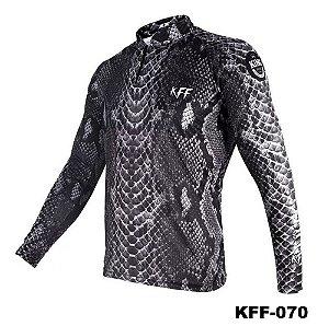 Camiseta de Pesca King Com Proteção Solar UV50+ - KFF070
