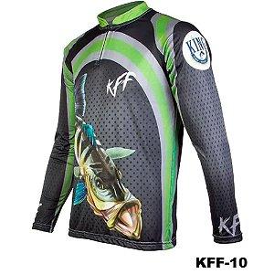 Camiseta de Pesca King Com Proteção Solar UV50+ - KFF10