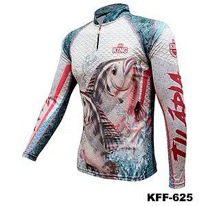 Camiseta de Pesca King Com Proteção Solar UV50+ - KFF625