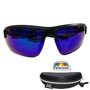 Óculos de Pesca Polarizado Maruri DZ6624 Lente Espelhada