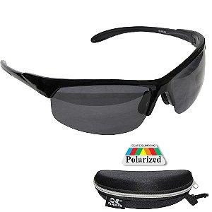 Óculos de Pesca Polarizado Maruri DZ6551 Lente Preta
