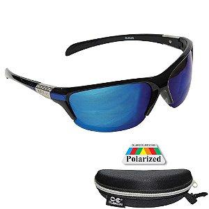 Óculos Polarizado Maruri DZ6513 Lente Espelhada Azul