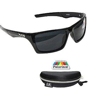 Óculos de Pesca Polarizado Maruri DZ6510 Lente Preta