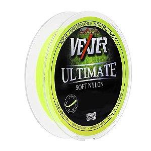 Linha Monofilamento Vexter Ultimate Soft Marine Sports 0,37mm 300m Cor Amarela