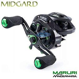 Carretilha Maruri Midgard 12000 By Nakamura Recolhimento 8.1:1 Drag 7 Kg