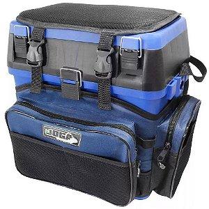 Caixa De Pesca Mochila Fishing Box Azul - Jogá