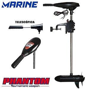 Motor Elétrico Para Barco 34Lbs Marine Sports Phantom Propulsor