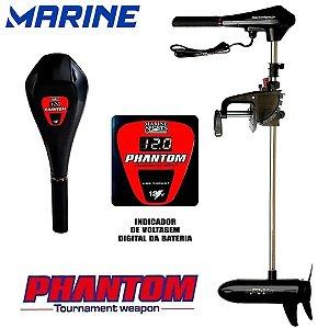 Motor Elétrico Para Barco 54Lbs Digital Marine Sports Phantom Propulsor