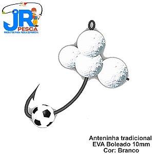 Anteninhas Tradicional JR Pesca Cor Branco