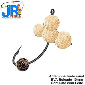 Anteninhas Tradicional JR Pesca Cor Cafe Com Leite