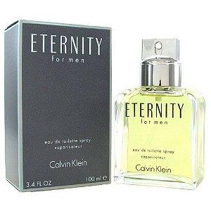 Perfume Masculino Calvin Klein Eternity For Men 100ml Edt Spray