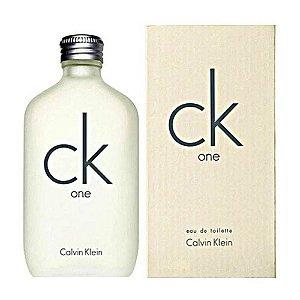 Perfume Feminino Ck One (unisex) Calvin Klein 100 Ml Eau De Toilette