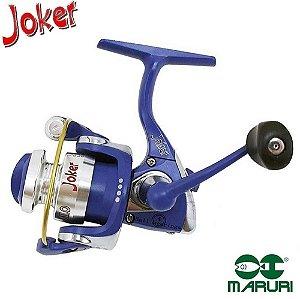 Molinete Maruri Ultra Light Joker Milo Azul Com 4 Rolamentos