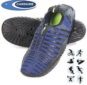 Tenis Cardume Porus Ideal Para Caiaque, Trilha, Surf e Pesca - Azul