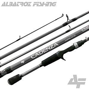 Vara Albatroz Para Carretilha Cadenza C562 8-17lbs 1,68mts