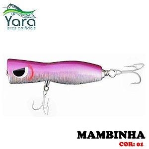 Isca Artificial Popper Yara Mambinha 9Cm 18g Cor-01