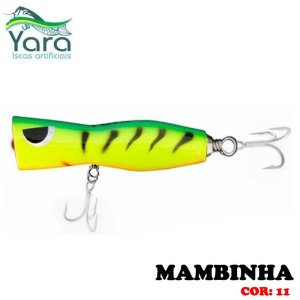 Isca Artificial Popper Yara Mambinha 9Cm 18g Cor-11