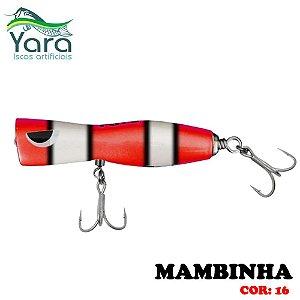 Isca Artificial Popper Yara Mambinha 9Cm 18g Cor-16
