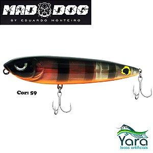 Isca Artificial Yara Mad Dog 9cm 13g By Eduardo Monteiro Cor 59