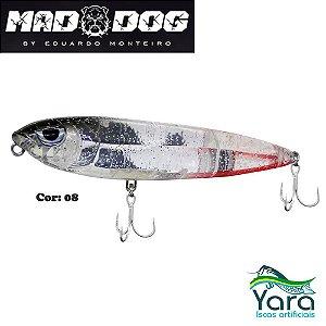 Isca Artificial Yara Mad Dog 12cm 26g By Eduardo Monteiro Cor 08