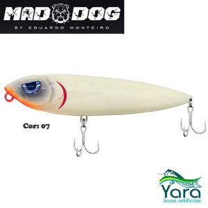 Isca Artificial Yara Mad Dog 12cm 26g By Eduardo Monteiro Cor 07