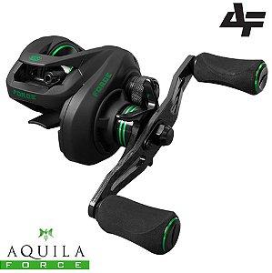Carretilha Aquila Force 10 Rolamentos 162g Drag 6kg Albatroz