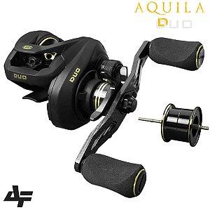 Carretilha Albatroz Aquila Duo 7.2:1 Drag 4Kg Peso 157g