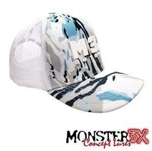 Boné Outdoor Blue 03 Monster 3X Original Com Regulagem
