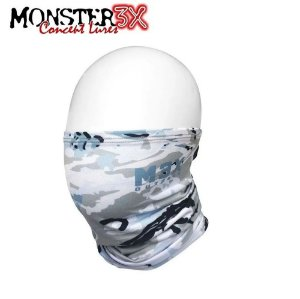 Máscara de Proteção Solar Bandana Monster 3X Blue 02