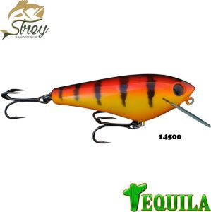 Isca Artificial Tequila Strey 85mm 14grs Cor 14500 Hot Tiger