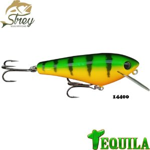 Isca Artificial Tequila Strey 85mm 14grs Cor 14400 Fire Tiger
