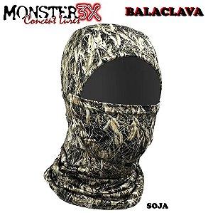 Mascara Balaclava de Proteção Solar Monster 3x Soja