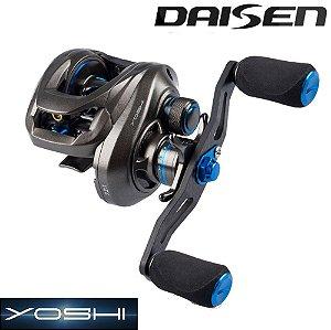 Carretilha Daisen Yoshi 12 Rolamentos 177g Corpo em Carbono Drag 6kg