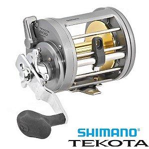 Carretilha Shimano Tekota 800 Drag 11Kg Ideal Para Pesca Pesada