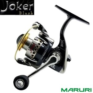 Molinete Maruri Ultra Light Milo Joker 800 Black C/ 6 Rolamentos