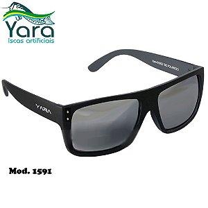 Óculos Polarizado Para Pesca Yara Dark Vision 1591 Classic Lente Smoke