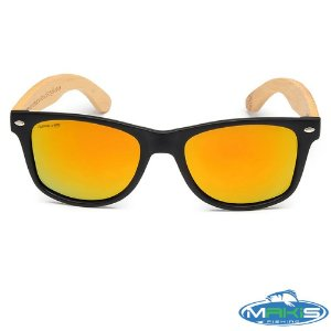 Óculos Polarizado Makis Fishing Bamboo HP 1389P C3 Lente Amarela