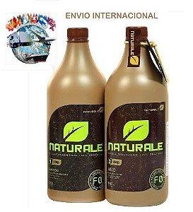 Kit Escova Progressiva 100% Orgânica NATURALE 1 litro +  FRETE INTERNACIONAL INCLUSO
