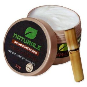 Manteiga de Bambú F-0 Pré Progress- Máscara de Hidratação Naturale Brasil - 300g